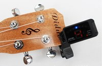 Wholesale Aroma AT multifunctional digital tuner suitable for guitar ukulele violin bass and chromatic tuner Afinador de guitarra