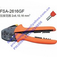 Wholesale 2pc For insulated and Non Insulated Twin Cable end Sleeves crimping plier FSA GF
