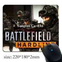 authentic mouse pads - Authentic Battlefield Hardline pattern Optics Mini Game Notebook Rectangular mouse pad