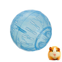 Toys White Hamster Ball Lowest Price Pet Products Mini 4 inch 10cm Plastic Rodent Mice Hamster Exercise Ball Rat Play Toy Blue Color order<$18no track