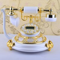 Wholesale call ID handfree Antique telephone fashion vintage old telephone office home telephone