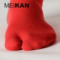Wholesale Tabi Socks High Quality Brand Toed Flip Flop Cotton Split Toe Sock Men and Women Colors Tabi Kimono Socks