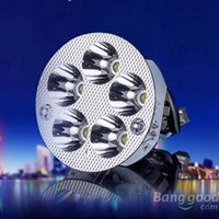 Wholesale 2015 New W K LM White Motorcycle Scooter LED Headlight Lamp