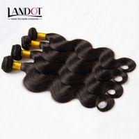 Wholesale Brazilian Body Wave Virgin Hair Extensions Peruvian Malaysian Indian Cambodian Brazillian Human Hair Weave Bundles Natural Color Double Weft