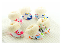 boots baby fur - Baby First Walker Winter Boots Shoes Toddler Footwear Warm Shoes Fashion Printed Casual Shoes Baby First Walking soft Shoes