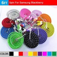 Cheap Fabric Cables for S4 Note 4 Best Micro USB 2.0 Cable for Android