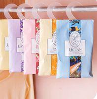aromatherapy sachets - Hanging type natural spice sachet wardrobe closet deodorizing aromatherapy sachet bag mold pest control A313