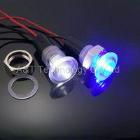 automotive custom - Custom made white Led signal light v blue indicator lamp home decor led light automotive Single light Pool light