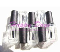 Wholesale Via Fedex EMS ML Empty Mini Nail Polish Bottle Refillable Nail Oil Container Transparent Glass Packing Bottle