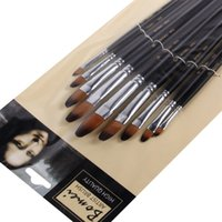 art hair products - nylon hair round head paint brush art supplies oil painting brushes promotional product