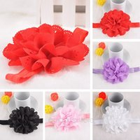Wholesale Baby Hair Accessories Baby Girl Rose Flower Headbands Toddler Hollow out Hairbands Girl Headwear FMPJ162 M1