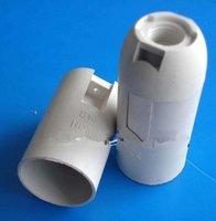 Wholesale E14 lampholder small screw chandelier lamp holder plastic lamp base