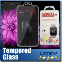 Wholesale Apple watch mm mm Tempered Glass mm Ultra Thin iPhone plus Screen Protector For iPhone s S For galaxy S6 edge S5 S4 note4