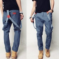 Wholesale 2014 New Fashion Men Jeans Slim Fit Casual Overalls Stylish High Quality Men Jeans MKN166