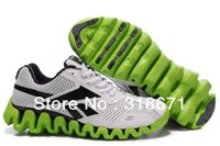 Cheap 2013 Men Avatar New Zig-zag Outsole Sports Shoes Male Authentic Leather Plush Mesh Running Casual Sneakers Shoes Free Shippment