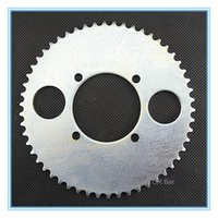 Wholesale 54 teeth T8F Couronne Factory direct mini cross scooter rear sprocket teeth for T8F chain