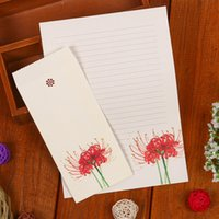 Wholesale Interval elegant plant in envelopes letterheads fresh hand painted flowers and a variety of optional packages