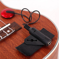 Wholesale 2015 Hot Piezo Contact Microphone Pickup Jack for Guitar Violin Banjo Mandolin Ukulele pc Z00483