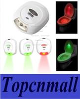 Wholesale 2015 LED Sensor Motion Activated Toilet Light Bathroom Flush Toilet Lamp Battery Operated Night Light led Closet Corridor Light