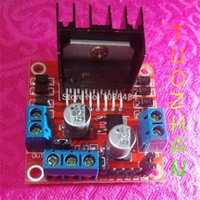 Cheap Special promotions 5pcs lot L298N motor driver board module L298 for arduino stepper motor smart car robot