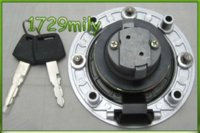 Wholesale 00 For SUZUKI GSXR k1 fuel gas tank cap cover lock key holes