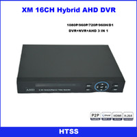 Wholesale AHD camera system IP camera DVR P HDMI output P CH H Security Standalone Network NVR DVR CCTV System