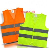 safety vests reflective - 100 BBA5421 High Visibility Reflective Safety Vest Coat Sanitation Vest Traffic Safety warning clothes vest Safety working waistcoat clothes