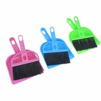 Wholesale Multicolor Mini Pet Cleaning Small Broom Mini Broom Litter Sweeper scoop for Cleaning Pet s House