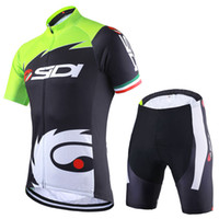 Wholesale 2016 Fluorescent Green Breathable Cycling jerseys Quick Dry Ropa Ciclismo Bike Jerseys Cycling Clothing Bicycle Sportswear