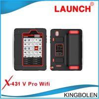 Wholesale Launch X431 V X431 Pro original Wifi Bluetooth Tablet Full System Diagnostic Tool x v DHL free