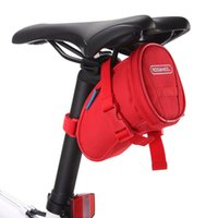 Wholesale HOt sale Cycling Bicycle saddle bag multi color quick release seat stay bag mountain bike back bags kits RF38