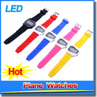 best digital watches for men - Best LED Display Watches Plane Head Style Digital Silicone Strap Wrist Watch For Women Men Ladies