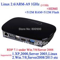 best thin client - FL300 RDP best linux thin clients with HDMI RDP M Ram M flash ARM A9 Processor Ghz Multi language