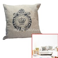 Wholesale Classic Cushion Bed Car Sofa Throw Pillow Case Cover Room Home Decoration New