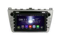 Wholesale RK Android Car DVD Player GPS Navi For Mazda touch screen radio Com RDS Bluetooth dvd cd mp3 mp4 GPS iPod