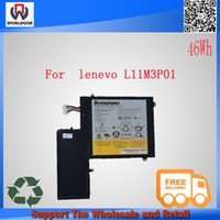Wholesale 100 new original Laptop Battery for Lenovo IdeaPad U310 inch L11M3P01 CU ICP5 S121500058