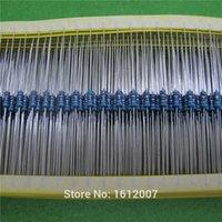 Wholesale 500pcs Ohm W Resistor ROHS w R ohm Metal Film Resistors W Watt color ring resistance Carbon Film