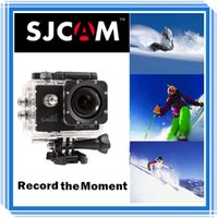 Wholesale Original SJCAM WiFi Version SJ4000 WiFi P Full HD GoPro Camera Style Extreme Sport DV Action Camera Diving M Waterproof DHL Free