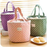 Wholesale 500pcs CCA3221 High Quality Fresh Lunch Container Bag Picnic Pouch Handbags Thermal Insulated Cooler Bag Lunch Box Tote Portable Lunch Bag