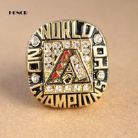 arizona championship ring - 2015 Fashion Sport gold Jewelry Arizona Diamondbacks World Series Championship Rings that Custom gift Ring for men fans