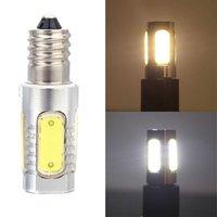 Wholesale New Aluminum E14 W V Car COB LED Bulb Lamp Degree High Quality