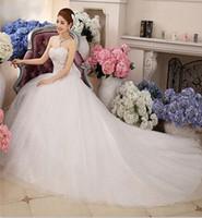 Wholesale The bride marriage yarn dress trailing latest bow super luxury bandage