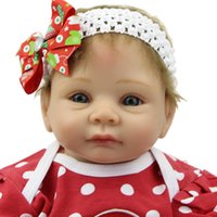 Cheap 22inch Lifelike Baby Reborn Doll Life Size Baby Doll Silicone Reborn Babies Realistic Baby Toys Finished Doll Christmas Gift