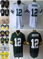 wholesale football jersey - NEW Aaron Rodgers Jersey Stitched Packers Jerseys Cheap Size M XXXL discount football jerseys Custom Limited Elite Game Embroidery