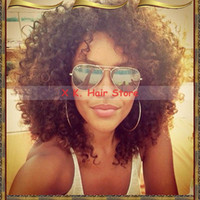 Cheap Burgundy full lace human hair wigs Best Peruvian Hair Curly short human hair wigs