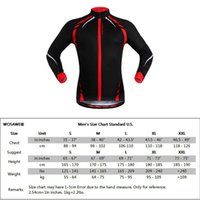 Wholesale WOSAWE Men s Cycling Riding Reflective Jersey Outdoor Sports Elastic Running Fitness Bike Bicycle Long Sleeve Jackets Wind Coat