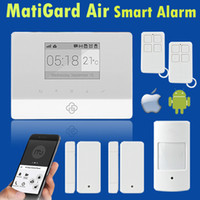Wholesale 2015 Newest support Android IOS APP GSM Alarm System for Security Home Alarm system GSM MHz