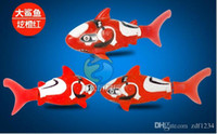 Wholesale Hot Sale Electric Fish Colors Electronic Pet Toys Magical Robo Fish Robofish Robot Fish Activated Turbot Electri