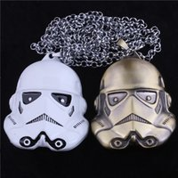 Star Wars Super Hero collier en alliage multifonctionnel Darth Vader Stormtrooper Figurines d'action collier pendentif Collectable SD504