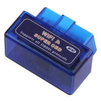 Wholesale Hot Mini WIFI ELM327 OBDII Auto Scanner Car Diagnostic Scanner B13